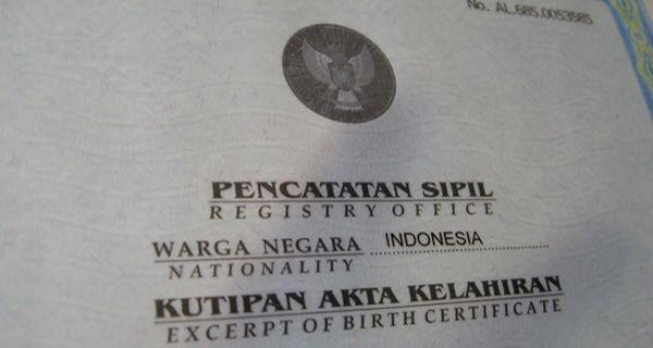 Pembuatan Akte Kelahiran Online Gratis Di Tangerang Jpnn Com