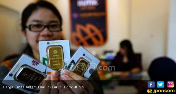 Wow Harga Emas Antam Dan Ubs Di Pegadaian Hari Ini Jumat 1 Januari 2021 Jpnn Com