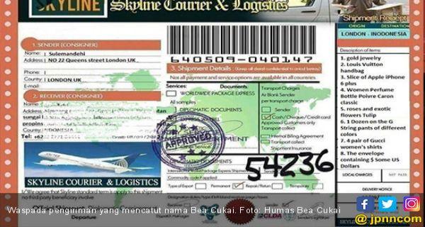 Waspada Penipuan Catut Nama Bea Cukai Ini Modusnya Jpnn Com