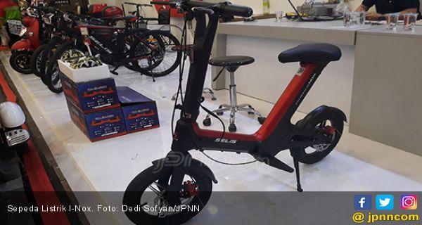 Sepeda Listrik I Nox Dijual Dengan Harga Rp 15 Juta Jpnn Com