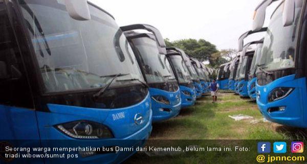Dirjen Darat Minta Manajemen Damri Segera Cari Solusi Supaya Sopir Bus Tidak Mogok Kerja Jpnn Com