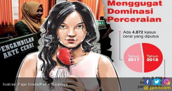 Setahun Ada Tambahan 5 235 Janda Di Surabaya Karena Perceraian Jpnn Com