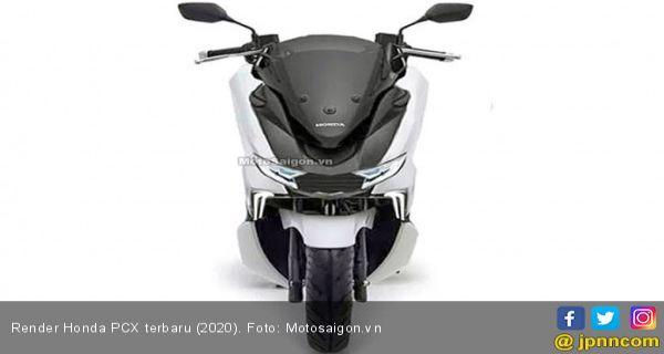 Usaha Calon Honda Pcx Terbaru Ingin Sejajar Dengan Yamaha Nmax Jpnn Com