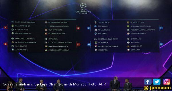 Undian Liga Champions Grup F Jadi Pul Neraka Jpnn Com