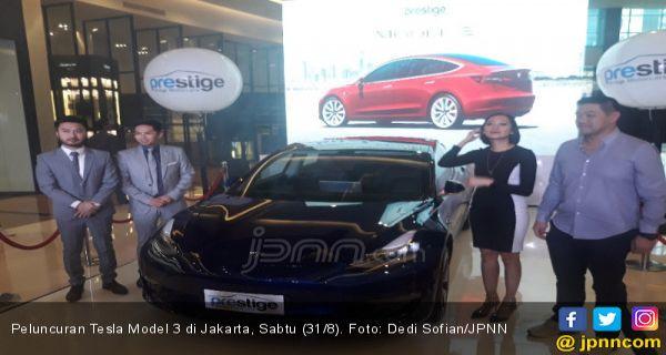 Tesla Model 3 Resmi Mengaspal Di Indonesia Harga Rp 1 5 Miliar Jpnn Com