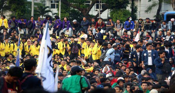 Omnibus Law: Rangkaian Demo Terkait