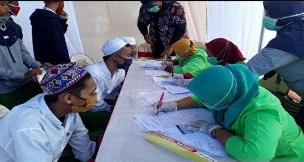 Santri Pulang Kampung Kena Screening Corona, 10 Masuk ODP - JPNN.com