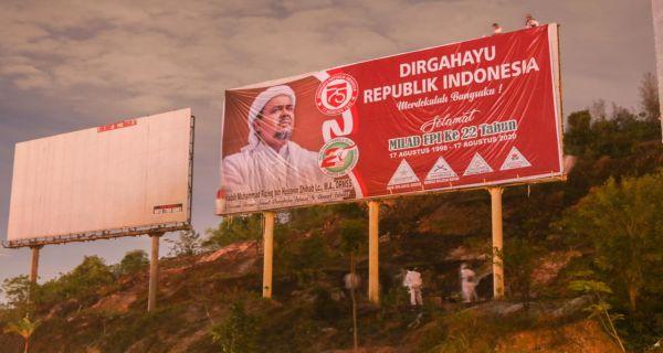 Spanduk Habib Rizieq Bentuk Sindiran Buat Jokowi dan Prabowo? - JPNN.COM